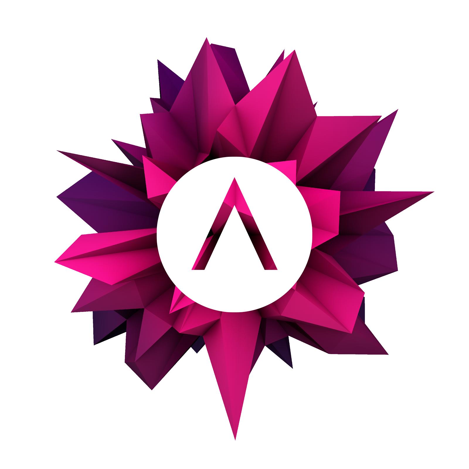 Summit polygon mit logo transparent